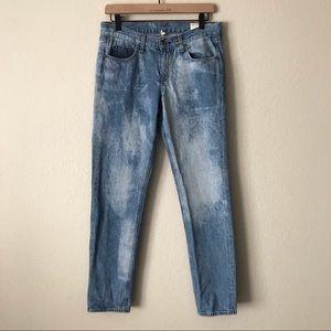 RAG & BONE Boyfriend Potassium Wash Jeans 27